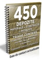 Lista cu principalele 450 depozite de materiale de constructii /instalatii 2017