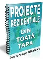Lista cu 167 de proiecte rezidentiale din toata tara (noiembrie 2017)