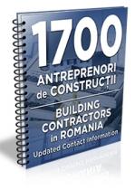 Lista cu principalii 1600 de antreprenori & firme de constructii 2017