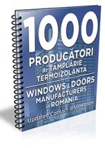 Lista cu principalii 1000 de producatori de tamplarie termoizolanta 2017