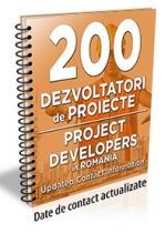 Lista cu principalii 200 dezvoltatori de proiecte si investitii in constructii 2017