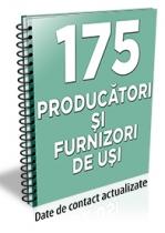 Lista cu principalii 175 producatori/furnizori de usi