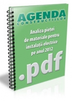 Analiza pietei de materiale pentru instalatii electrice pe anul 2012