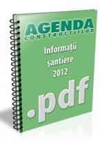 Informatii despre santiere, lucrari si investitii - februarie 2012