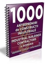 Lista cu principalii 1000 antreprenori de constructii industriale 2017