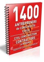 Lista cu principalii 1400 antreprenori de constructii civile 2019