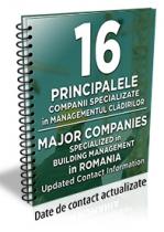 Lista cu principalele 16 companii specializate in managementul cladirilor