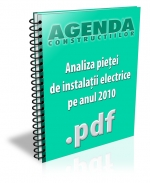 Analiza pietei de instalatii electrice pe anul 2010