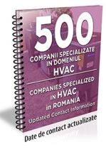 Lista cu principalele 500 companii specializate in domeniul HVAC 2017