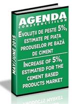 Analiza pietei de ciment, aditivi, betoane si agregate pe anul 2015