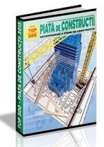 PIATA de CONSTRUCTII: Analiza 2015-2016 & Perspective 2017-2020 (TOP500)