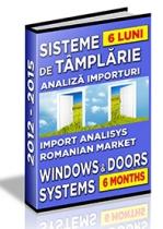 Analiza importurilor de sisteme pentru tamplarie - S1 2015