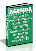 Analiza pietei de ciment, aditivi, betoane si agregate pe anul 2016