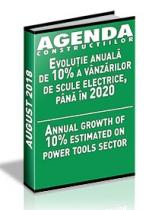 Analiza pietei de scule electrice pe anul 2018