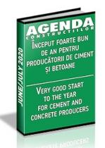 Analiza pietei de ciment, aditivi, betoane si agregate pe anul 2020