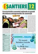 GRATUIT! Revista INFO-Santiere - editia 12 (Decembrie 2010)
