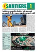 Revista INFO-Santiere - editia 1 (Ianuarie 2011)