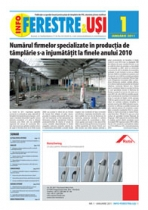Revista INFO-Ferestre & Usi - editia 1 (Ianuarie 2011)