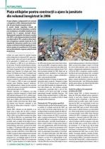 Analiza pietei de utilaje pentru constructii pe anul 2010