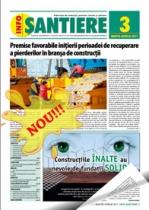 Revista INFO-Santiere - editia 3 (martie-aprilie 2011)