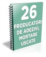 Lista cu principalii 27 de producatori de adezivi si mortare uscate