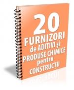 Lista cu principalii 22 de furnizori de aditivi si produse chimice pentru constructii