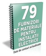 Lista cu principalii 79 furnizori de materiale pentru instalatii electrice