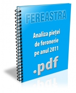 Analiza pietei sistemelor de feronerie pe anul 2011