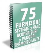 Lista cu 67 furnizori de sisteme de hale, acoperisuri si panouri termoizolante
