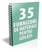 Lista cu principalii 34 furnizori de sisteme pentru izolatii