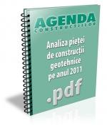Analiza pietei de constructii geotehnice pe anul 2011